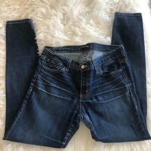 EUC Flying Monkey skinny jeans w/slight whiskering